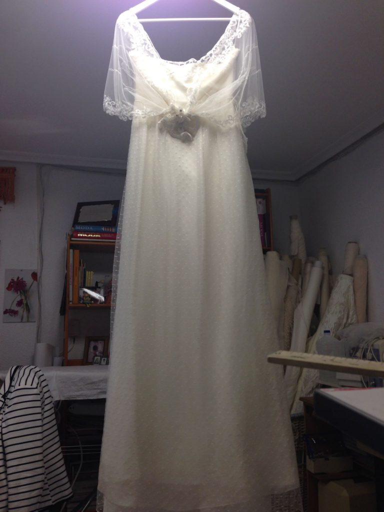 Vestido de tejido de punto muy fino