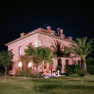 boda al aire libre en Extremadura