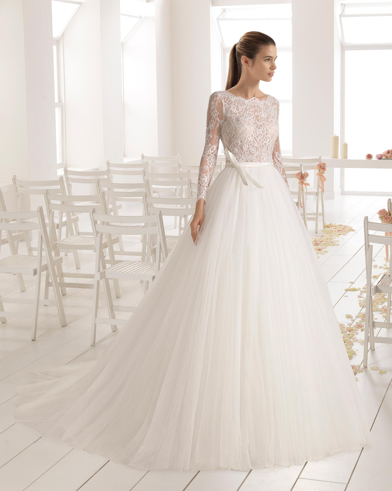 0ab4a9d82 Vestidos de novia con tul